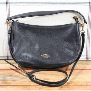 COACH Womens Pebble Chelsea Crossbody EUC